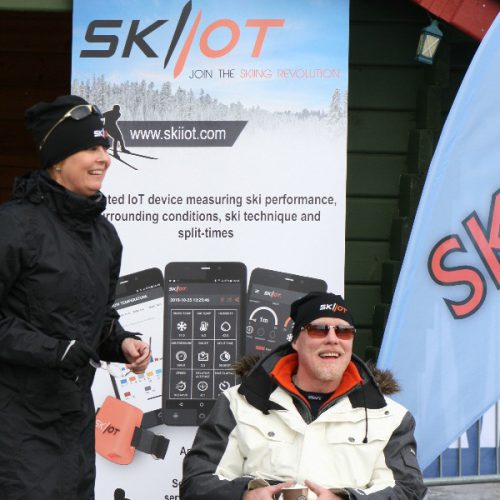 SKIIOT stand in Levi