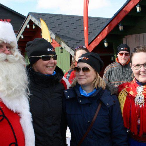 Santa visited team SKIIOT