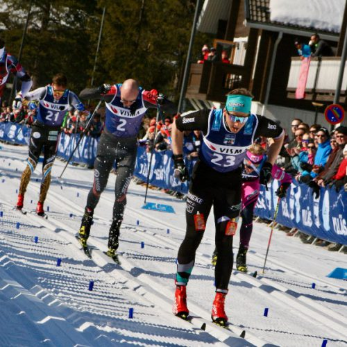 skiiot- skiing analyzer- image with Pro skiers