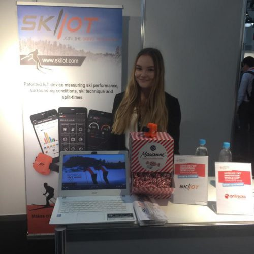 Skiiot stand in WT Innovation World Cu